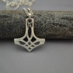 Sterling silver Celtic Hammer