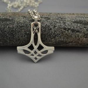 Sterling silver Celtic Hammer