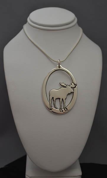 Muskoka jewellery design one of a kind jewellery in huntsville moose pendant aloadofball Images