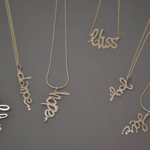 Name Pendants
