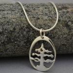 8. White Pine Tree Pendant